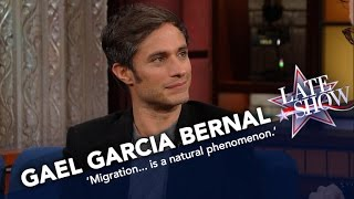 Download Gael Garcia Bernal: We All Come From Migrants Video