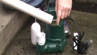 Download How To Install a SUMP PUMP, Do It Yourself Project For Homeowners By Apple Drains Drainage Contracto Video