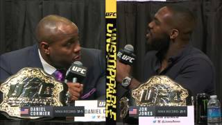 Download Jon Jones and Daniel Cormier go at it at UFC Unstoppable presser Video