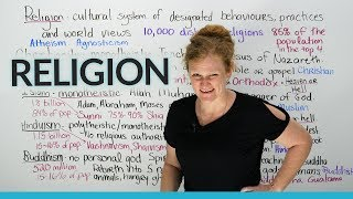 Download Culture & Vocabulary: Major religions of the world Video