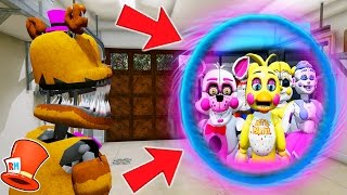 Download HOW TO TRAVEL TO AN ALL GIRLS ANIMATRONIC DIMENSION! (GTA 5 Mods For Kids FNAF) RedHatter Video