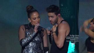 Download Prince Royce feat Jennifer Lopez - ″Back it Up″ Live at iHeartRadio Fiesta Latina (Full HD) Video