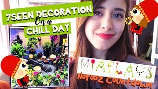 Download NOROOZ COUNTDOWN day 6- Spend a chill day with me || چیدن هفت سین و پروژه هام Video