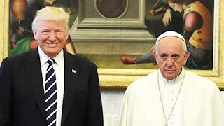 Download Pope Francis Meets With President Trump Video