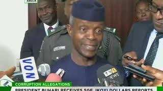 Download President Buhari receives SGF, NIA boss' probe report Video