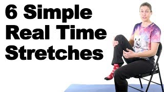 Download 6 Simple Office Stretches in Real Time - Ask Doctor Jo Video