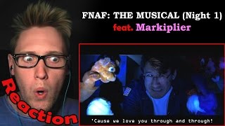 Download Five Nights At Freddy's: The Musical feat. Markiplier (Night 1) REACTION! Video