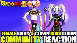 Download Dragon Ball Super Female Broly Community Reactions! Clown God Designs, Universe 6 & More Video
