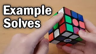 Download 3x3 Example/Walkthrough Solves (CFOP + White Cross) Video