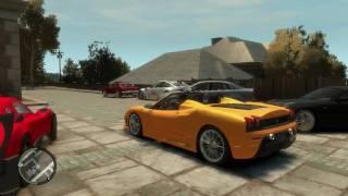 Download GTA 4 car mods v2.0 and driving the Pagani Zonda R Video