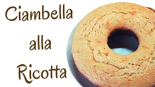 Download CIAMBELLONE ALLA RICOTTA FATTO IN CASA DA BENDETTA - Homemade Ricotta Cheese Cake Video