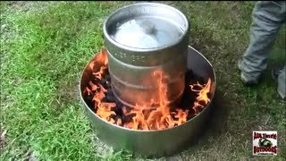 Download HOW TO COOK A TURKEY IN 2 HOURS THE EASY WAY! IN A BEER KEG!!!!!!! Video