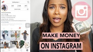 Download How To: Make Money On Instagram Without Being Instagram Famous | trishonnastrends Video