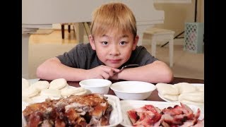 Download BBQ Duck and BBQ Pork Mukbang Video