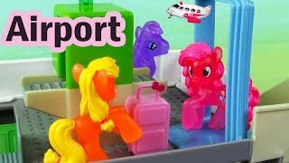 Download MLP Airport Security Check My Little Pony Travel Part 2 Rarity Pinkie Pie Apple Bloom Video