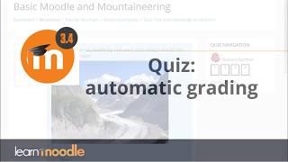 Download Quiz: Moodle 3.4 Video