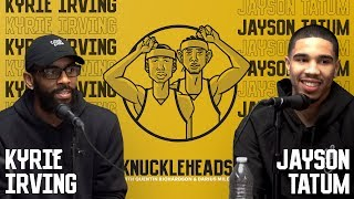 Download Kyrie Irving and Jayson Tatum join Knuckleheads with Quentin Richardson & Darius Miles Video