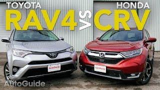 Download 2017 Toyota RAV4 vs Honda CR-V Comparison Video
