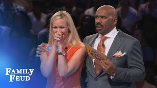 Download KELLI'S killing it in Fast Money!!! | Family Feud Video