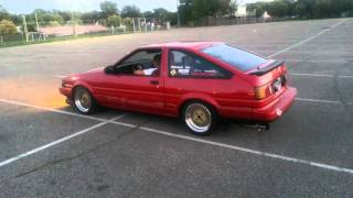 Download Ae86 exhaust sound Video