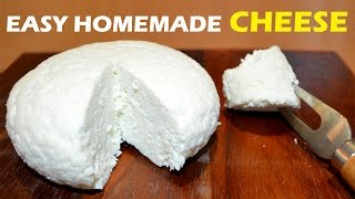 Download How to Make Cheese at Home - 2 ingredient Easy Cheese Recipe Video