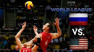 Download USA vs Russia - 2016 FIVB World League - ALL ACTION NO BREAKS Video