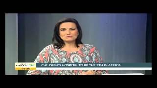 Download Nelson Mandela Children's Hospital nears completion Video