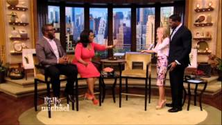 Download Oprah Winfrey Makes Surprise Visit with Tyler Perry to ″LIVE with Kelly and Michael″ Video