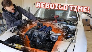 Download World's Most Abused Racecar Gets a NEW ENGINE! Video