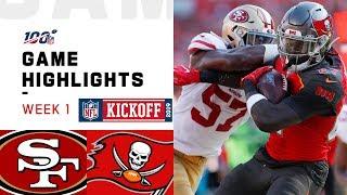 Download 49ers vs. Buccaneers Week 1 Highlights | NFL 2019 Video