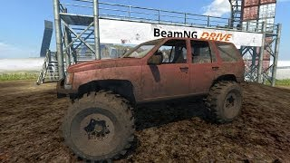Download BeamNG Drive Jeep Grand Cherokee Trail Ready Crash Testing #34 - Insanegaz Video