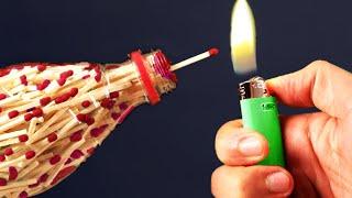 Download Amazing Match bottle DIY Experiments Video