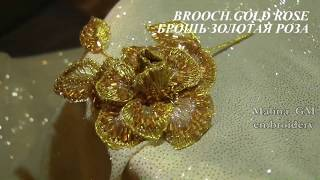 Download ВЫШИВКА: БРОШЬ\ Hand Embroidery: BROOCH Video