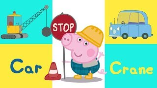Download Peppa Pig - Learn Vehicles with Peppa Pig - Learning with Peppa Pig Video