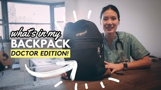 Download WHAT'S IN MY BACKPACK? (doctor edition!) Video