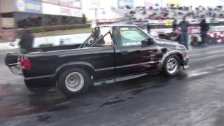 Download BED FULL OF BOOST - Twin Turbo S-10 Truck Video