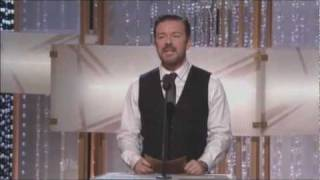 Download Ricky Gervais's performance at the Golden Globes offends Jon Stewart Video