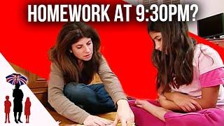 Download Kids Still Doing Homework Way Past Bedtime - Supernanny Video