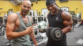 Download GYM WORKOUT WITH A BEAST | Must Do Exercises! Video