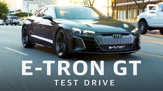 Download Audi E-Tron GT Test Drive Video