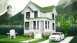 Download Building a Cardboard Villa 🏡 DIY House Making Project Video