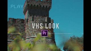 Download VHS Camera Look (Premiere Pro CC 2017 Tutorial) Video