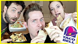 Download TASTING TACO BELL'S DOLLAR MENU ITEMS (with Erin & Adam) Video