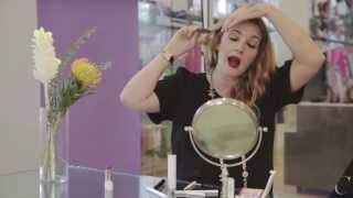 Download Drew Barrymore Gives 90s Beauty Tips Video