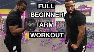 Download Arm Workout For Beginners (Planet Fitness) Video