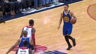 Download Stephen Curry Shakes Defender with Behind-the-Back Crossover! | 02.28.17 Video