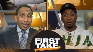 Download Donovan Mitchell talks NBA Rookie of the Year and Ben Simmons on First Take | First Take | ESPN Video