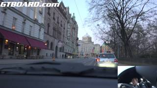 Download Ultra HD 4k shorter tour if Stockholm -capital of Sweden- in a Porsche 911 Turbo PDK Video