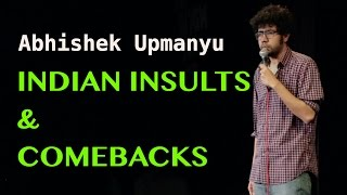 Download Indian Insults & Comebacks | Stand-up Comedy by Abhishek Upmanyu Video