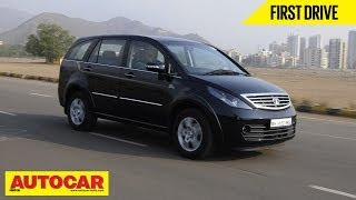 Download 2014 Updated Tata Aria | First Drive Video Review | Autocar India Video